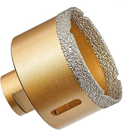 Diamantbohrer M14 Bohrkrone Fliesenbohrer Ø 95mm Trockenbohrer Granit Fliesen
