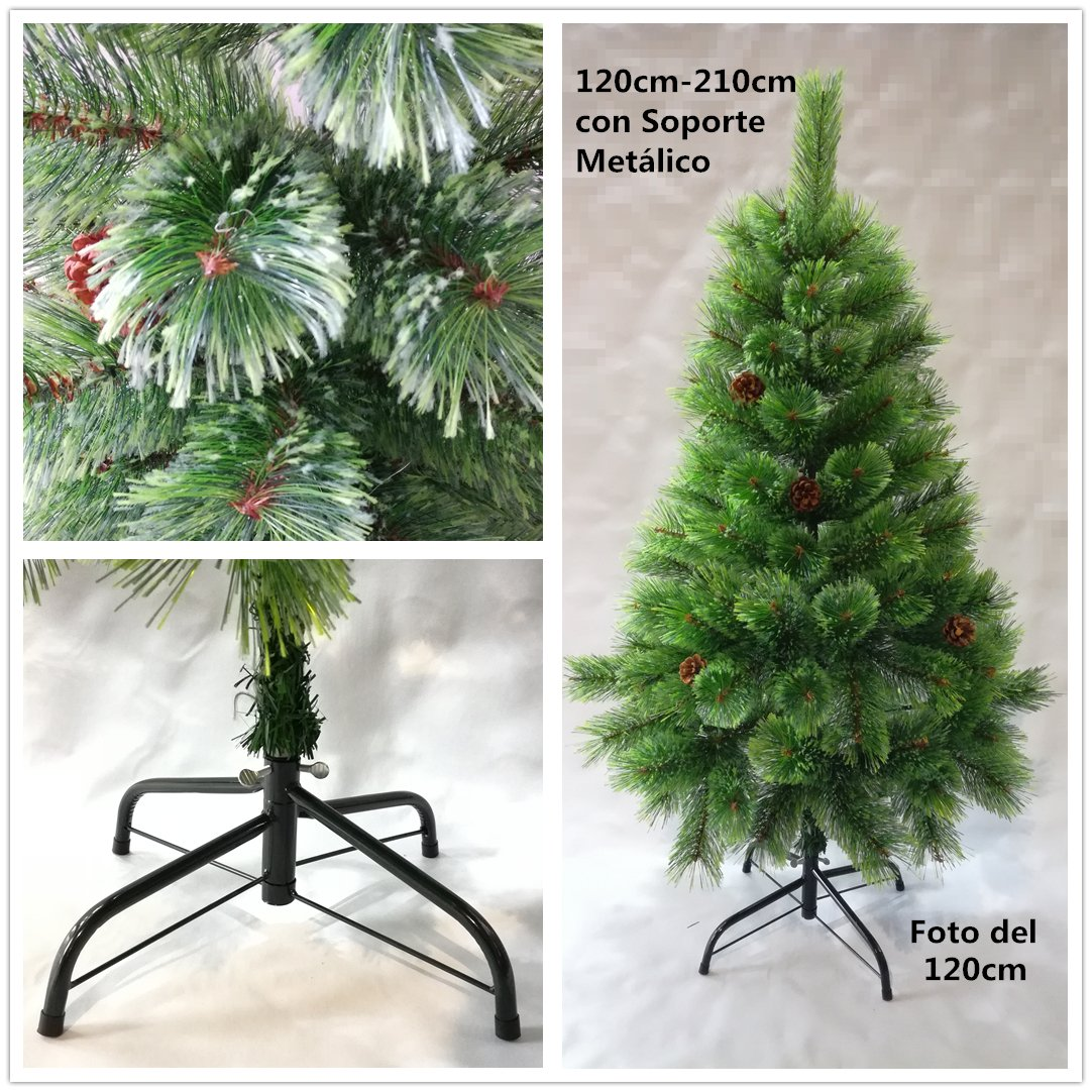 Árbol de Navidad artificial de pino verde Envio Gratis C Puntas abiertas