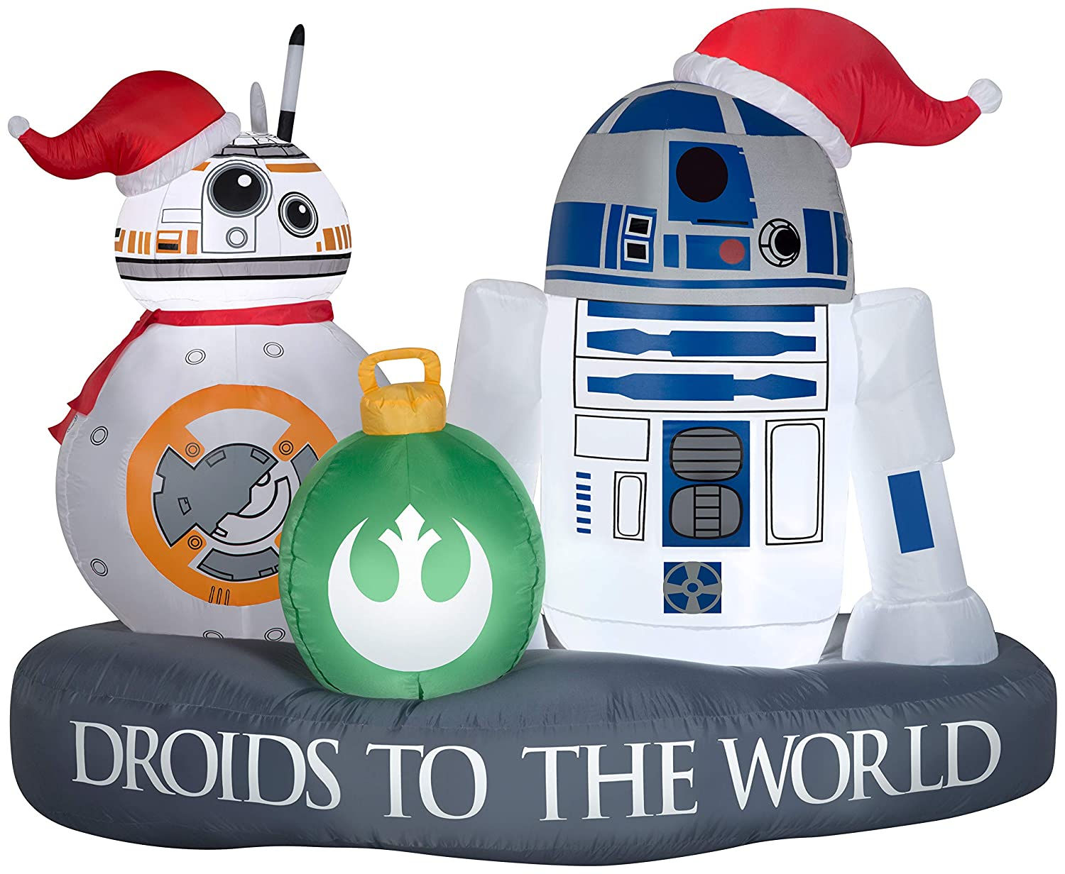 Star Wars Gemmy Christmas Inflatable 5 R2-D2 and BB-8
