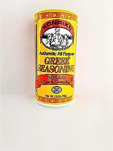 Konriko Seasoning Greek, 2.5 oz
