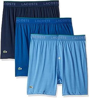 7e1bc14cf15ad6 Lacoste Men s 100% Cotton Boxer Brief Underwear