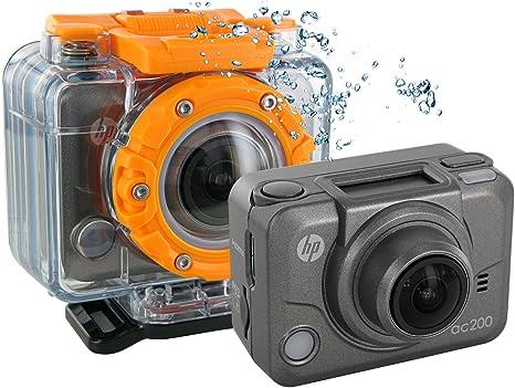 HP AC-200 - Cámara de Fotos Digital con Funda Sumergible a 60 m ...