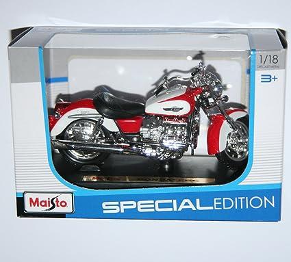 Maisto Honda F6C - Maqueta de moto (escala 1:18): Amazon.es ...
