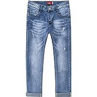 YoungSoul Vaqueros Niño Rotos Stretch Jeans Skinny Pantalones Niños Cintura Ajustable
