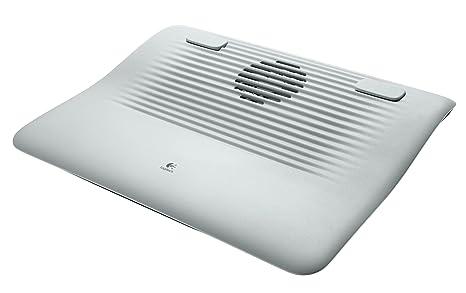 Logitech N120 - Base de refrigeración para portátil, color blanco