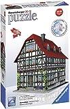 Ravensburger - 12572 2 - Casa Medievale, Puzzle 3D Building, 216 Pezzi