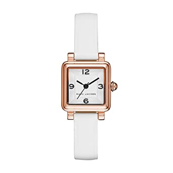 77b1281963bbf Amazon.com: Marc Jacobs Women's 'Vic' Quartz Stainless Steel and ...