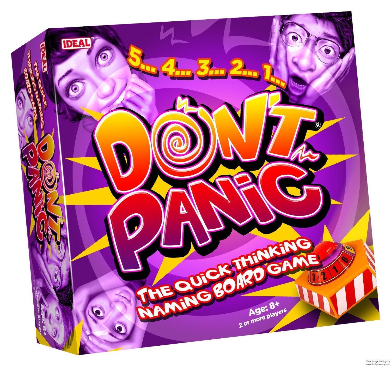 3XJohn Adams Don't Panic Board Game