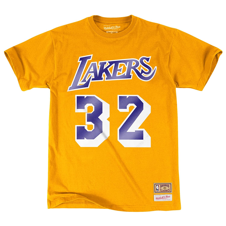 Mitchell & Ness - Camiseta Deportiva - para Hombre Amarillo XXXL