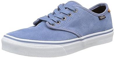 Vans Camden DX, Sneakers Basses Femme, Bleu (Suede), 41 EU