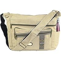 SEPAL Imported Cotton Cross Body Sling One Side Bag For College Messenger Shoulder Bag