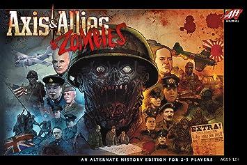 Amazon.com: Avalon Hill C50100000 Axis & Allies & Zombies, Multi ...