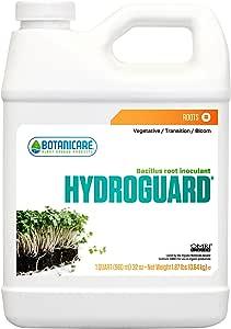 Botanicare HGC704078 Hydroguard Bacillus Root Inoculant, 1-Quart, Natural