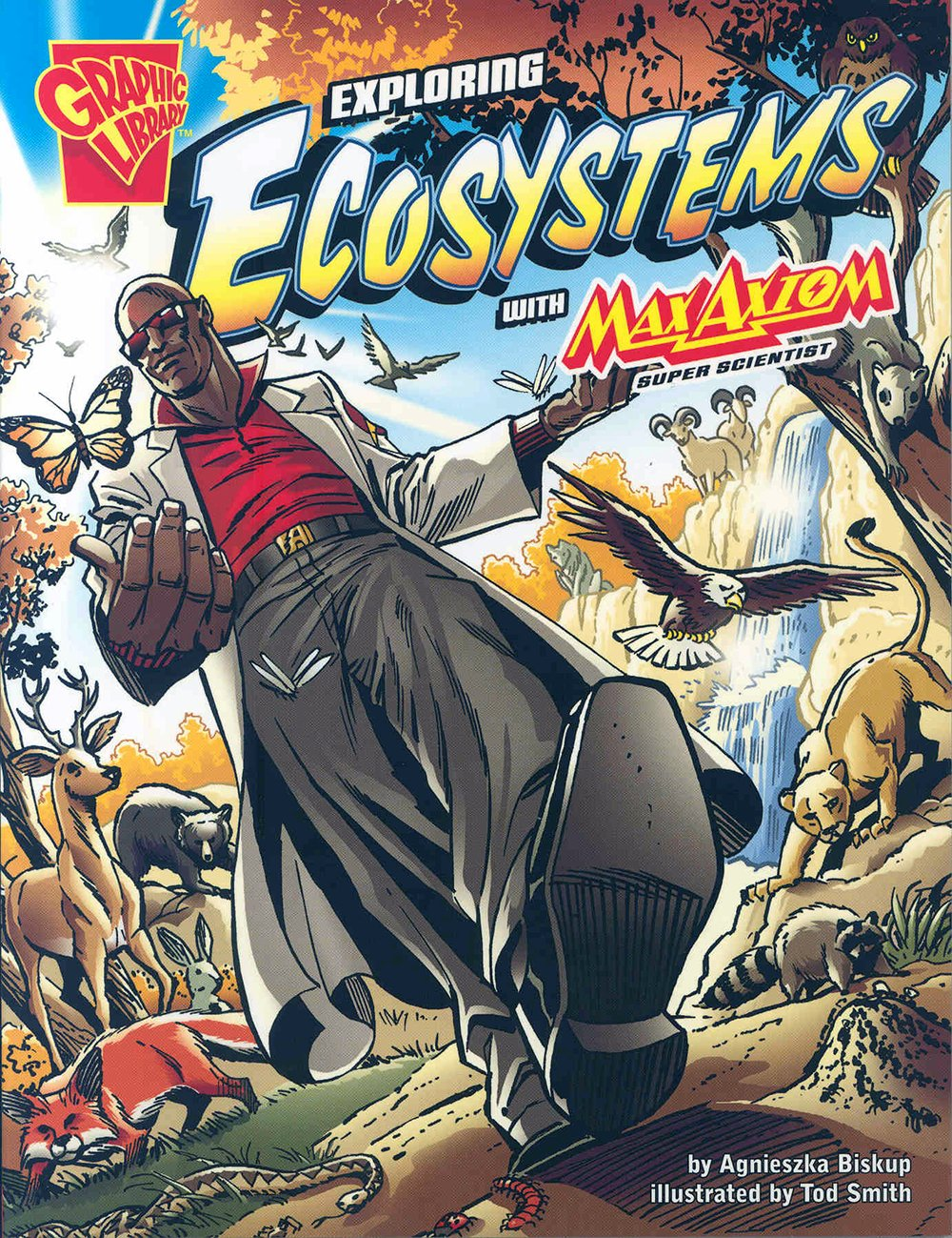 exploring ecosystems with max axiom super scientist graphic