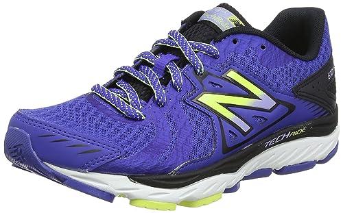 W670v5, Zapatillas de Running para Mujer, Azul (Blue/Black), 40 EU New Balance