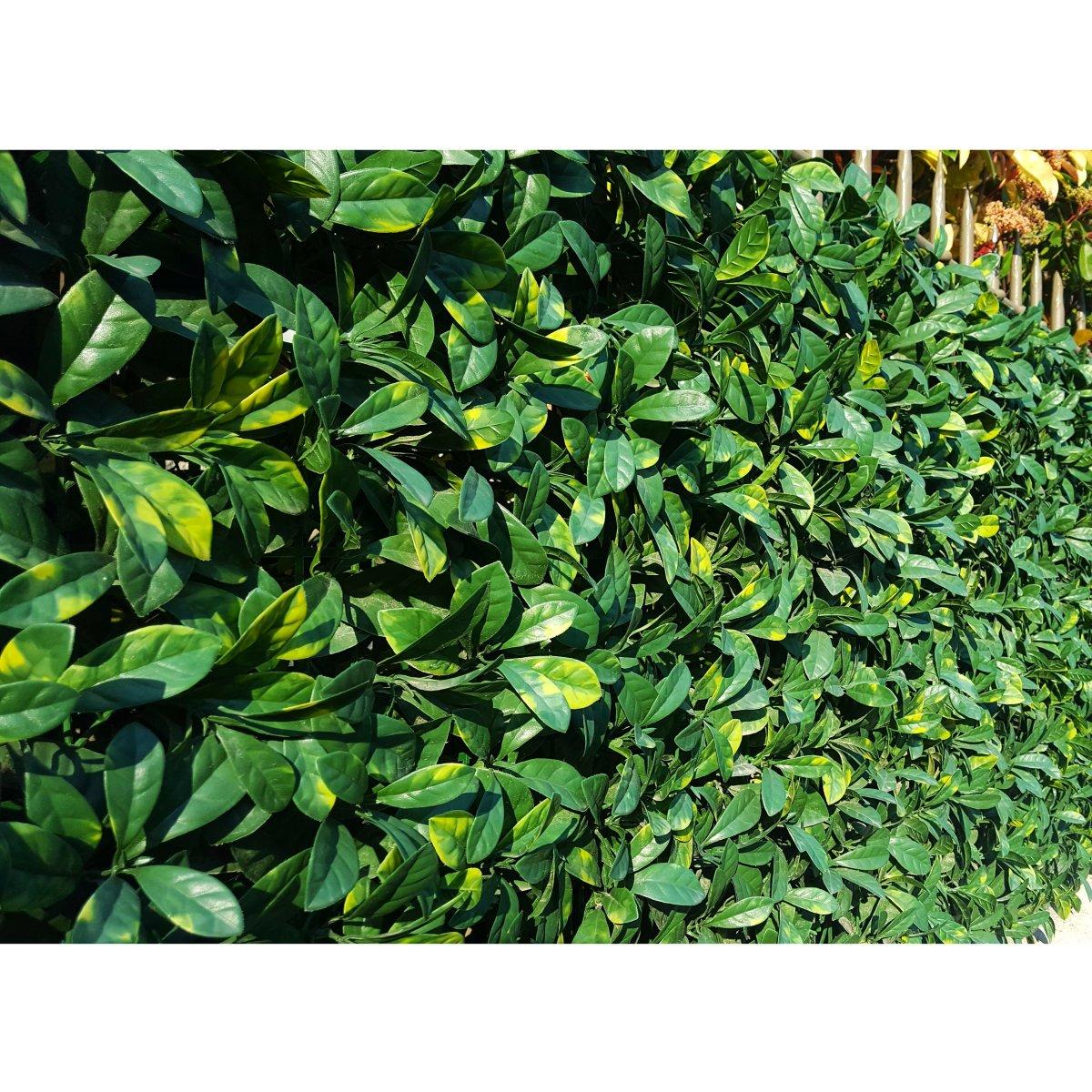 Amazon 4 Stück hochwertige künstliche Laurel Leaf Heckenschere