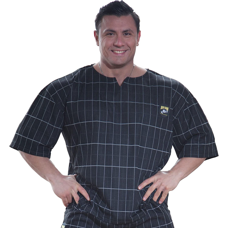 BIG SAM SPORTSWEAR COMPANY Bodybuilding Mens Ragtop Rag Top Sweater Gym T-Shirt 3124