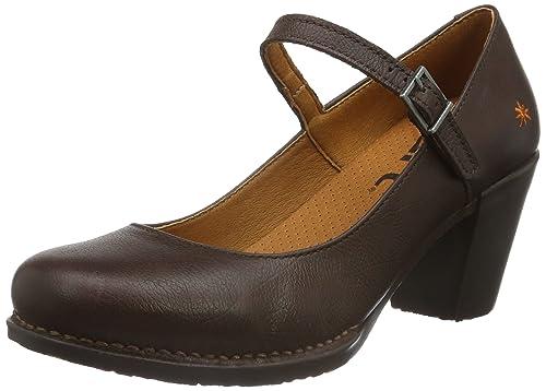 Zapatos negros Calego para mujer hz30Ma3a1Z
