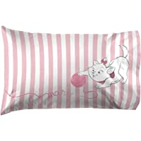 Jay Franco Aristocats Marie Cat & Yarn 1 Pack Pillowcase - Double Sided Kids Super Soft Bedding (Official Product)