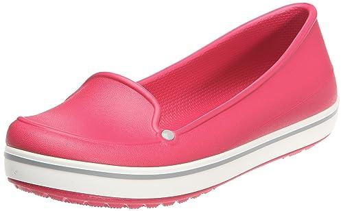 crocs Crocband, Bailarinas para Mujer, Rojo (Rot (Framboise/Fume), 37,5 EU: Amazon.es: Zapatos y complementos