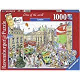 Ravensburger London Puzzle 1000pc,Adult Puzzles