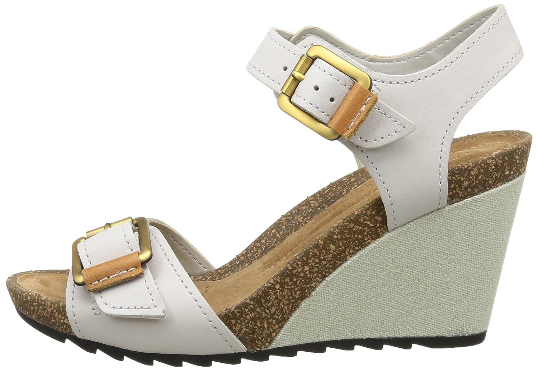 485e807da64c71 Clarks Women s Overly Sparkle Wedding Wedge Sandals Grey Size  3   Amazon.co.uk  Shoes   Bags