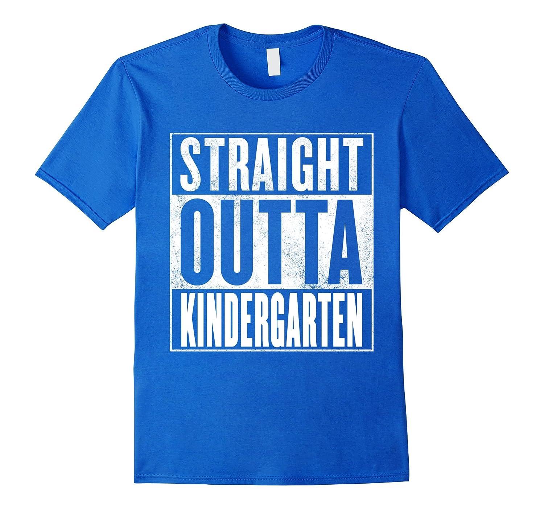 8dd662cf1 STRAIGHT OUTTA KINDERGARTEN SHIRT -Funny Kindergarten Grad T-ANZ ...