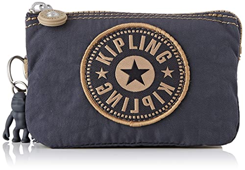 Kipling - Creativity S, Monederos Mujer, Gris (Night Grey Bl), 14.5x9.5x5 cm (B x HT)