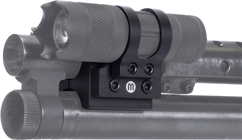 Monstrum Offset Flashlight Mount für Shotguns | 1 Inch Diameter