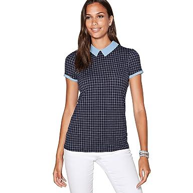 276711bca7 VENCA Camiseta Cuello Tipo Polo a Contraste con Abertura lágrima en la  espal - 013801  Amazon.es  Ropa y accesorios