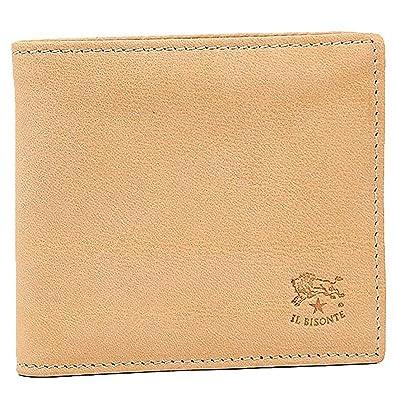 cce051675987 Amazon | [イルビゾンテ] メンズ 二つ折り財布 IL BISONTE C0817 P 120 ...