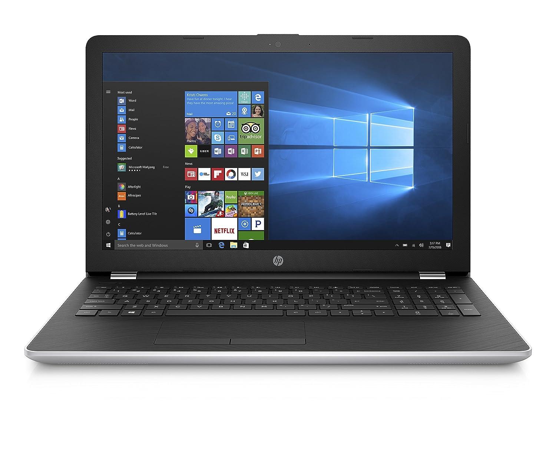 """HP 15-bs046nl Notebook, Display da 15.6"""", Processore Intel Celeron N3060, 1.6 GHz, HDD da 1000 GB, 4 GB di RAM, Intel HD 400, Argento Naturale"""