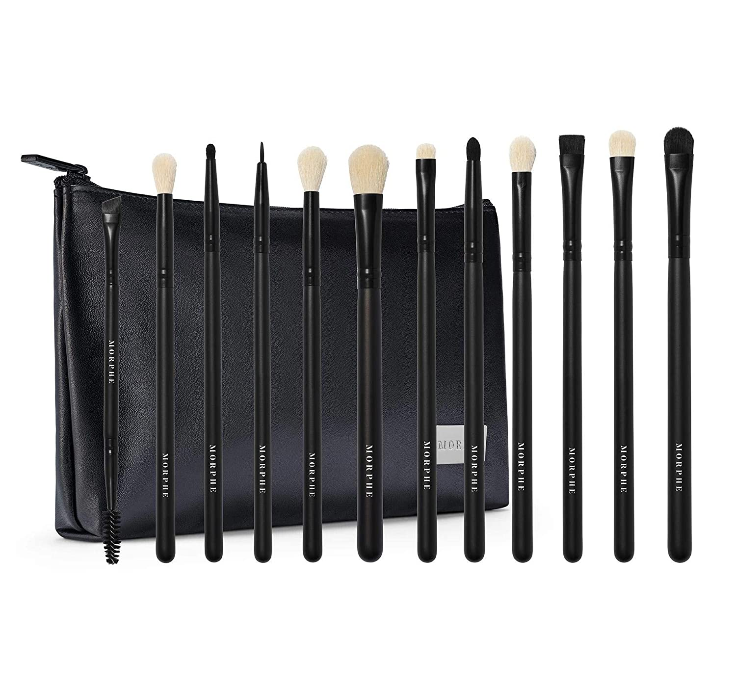 MORPHE Eye Obsessed Brush Set 12 Piece With Bag