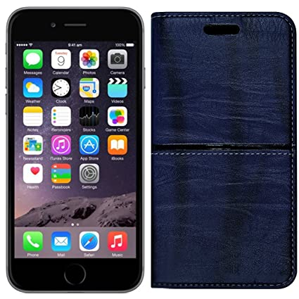 separation shoes e42f4 9ef5d Roxel Apple iPhone 6 Rich Boss Leather Flip Cover with: Amazon.in ...
