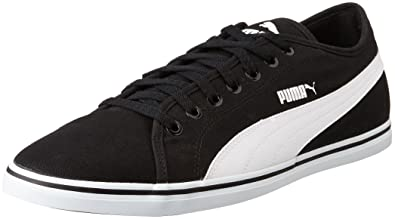 Puma Unisex Elsu V2 Sl Black White Sneakers, 10UK