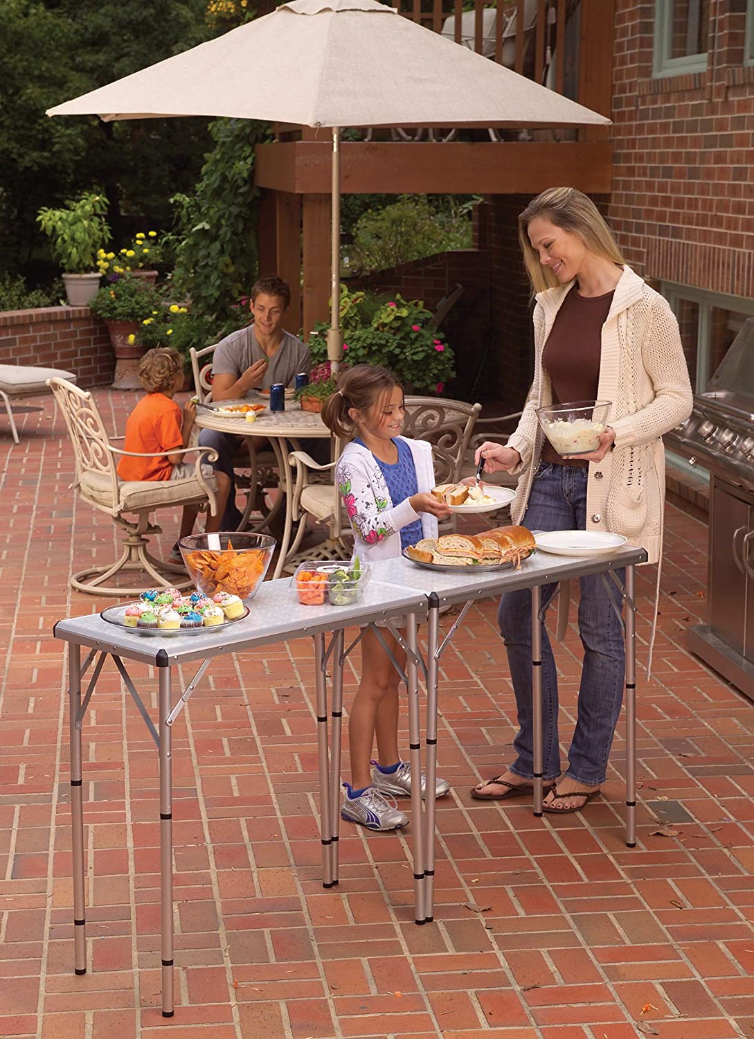 amazon com coleman pack away 4 in 1 table camping tables