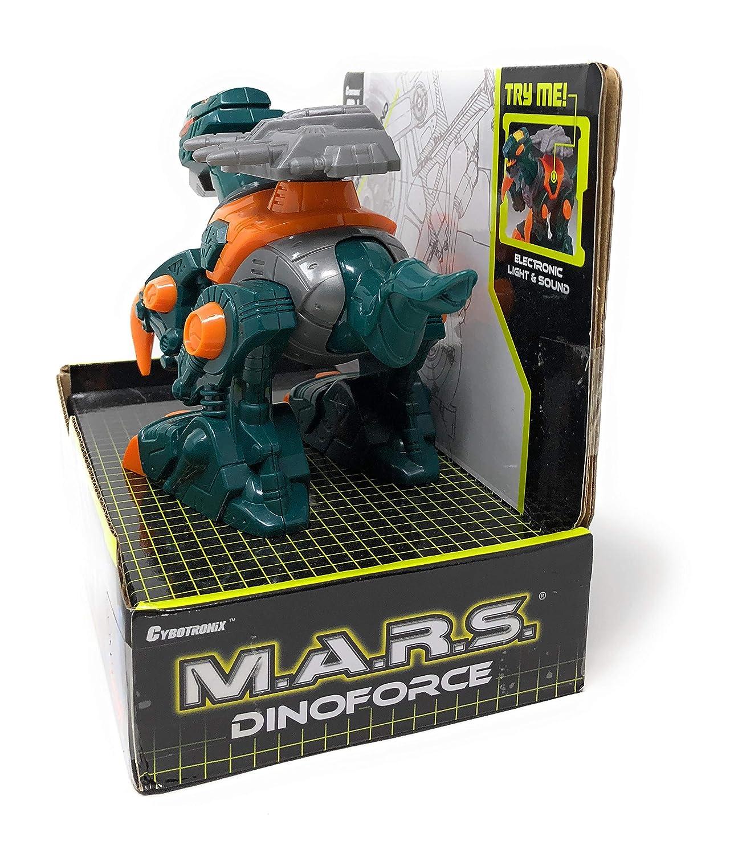 M.A.R.S Dinoforce Toy Robot Cybotronix Electronic Lights /& Sound Toy Dinosaur