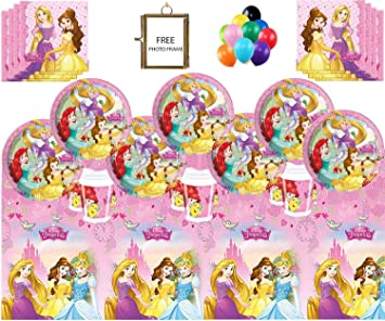 Disney Prinzessinnen Party Supplies Kinder Madchen Komplette
