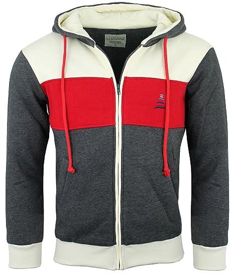 official photos 4ceba a03cb Listland® Sweat-Jacke für Herren, Hochwertige Sweatshirt ...