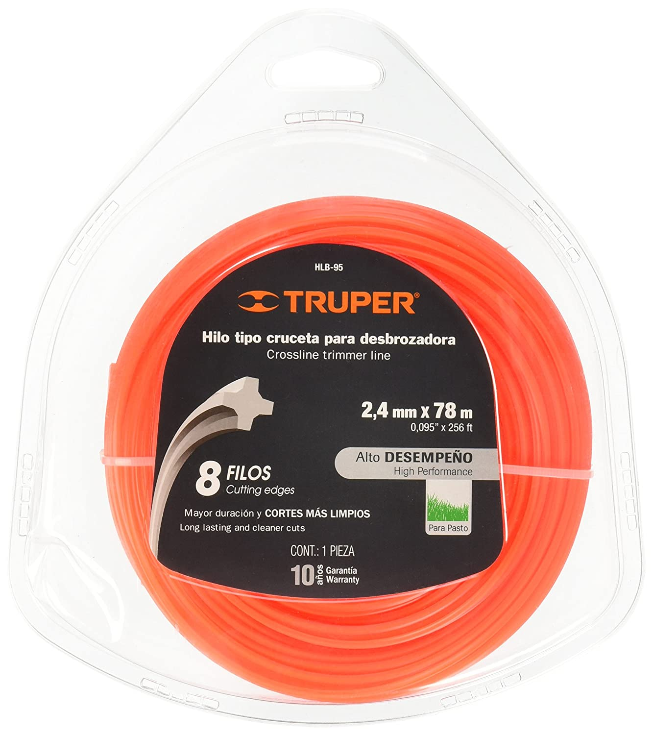 Amazon.com : TRUPER HLB-95 Rounded Strings in Clamshell Card ...