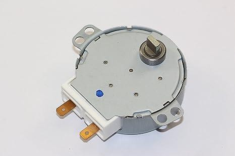 De repuesto Sharp microondas giradiscos Motor Parte Número ...