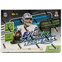 $104 » 2020 Panini Absolute NFL Football MEGA box (40 cards/bx)