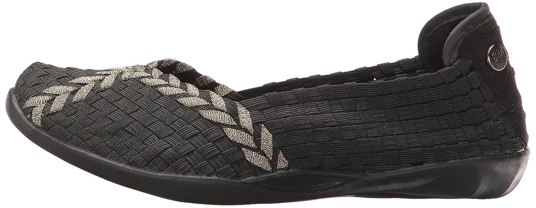 Bernie Mev Women's Braided Catwalk B016NLX3X0 40 EU/9.5-10 M US|Black/Bronze