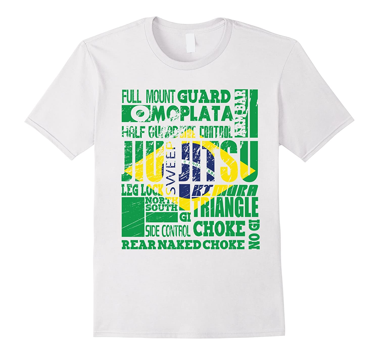 7ea0a5db BRAZILIAN JIU JITSU A-Z FLAG BJJ MMA T-shirt – Bgtee.com