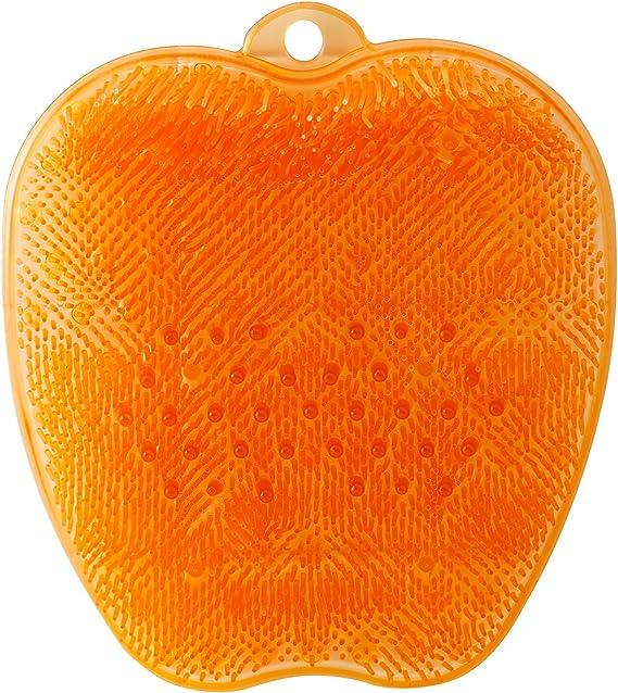 トーン フットブラシ オレンジ
