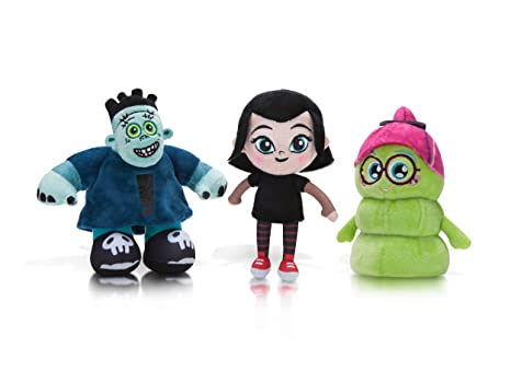 Hotel Transylvania 6 Inch 3 Pack Plush Set Mavis Friends