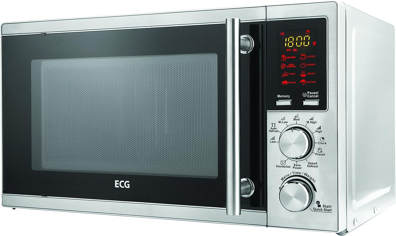ECG MTD 205 GSS - Microondas (45,2 cm, 35,6 cm, 26,2 cm): Amazon ...