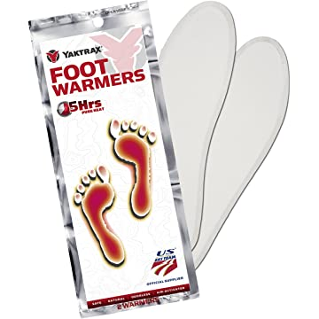 Yaktrax Adhesive Insole Foot Warmer