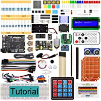 Freenove Ultimate Starter Kit with Board V4 (Compatible with Arduino IDE), 273-Page Detailed Tutorial, 217 Items, 51…