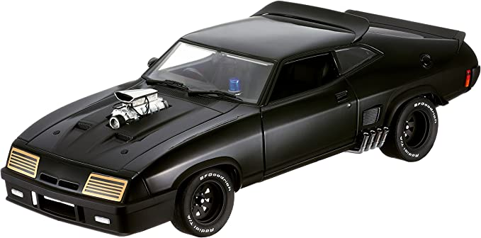 1//18 MAD MAX 4 DOOR FORD XB LAST OF THE V8 INTERCEPTERS MOVIE CAR NEW IN BOX
